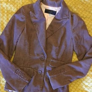 Vintage Mauve Corduroy Blazer